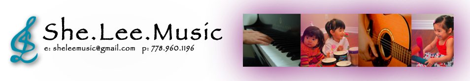 She.Lee.Music - Vancouver Richmond Music Therapy, Early Childhood Music Classes, Adapted Music Lessons
